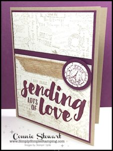 TEACH me that! Learn how to create with Background Stamps at www.SimplySimpleStamping.com - look for the June 8, 2017 blog post