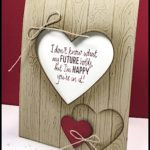 MAKE IT IN MINUTES VIDEO - Pinewood Planks Heart Card - www.SimplySimpleStamping.com - look for the June 16, 2017 blog post