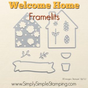 What's New Wednesday - see the HOME LIFE bundle from the NEW 2017-2018 Stampin' Up Annual Catalog! www.SimplySimpleStamping.com - check out blog post June 21, 2017