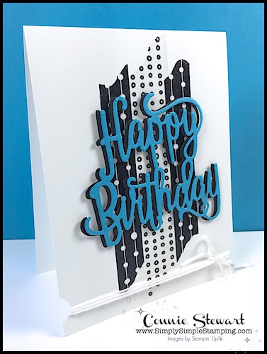 NOW or WOW Video - Happy Birthday Washi Card - learn how to create this fun pop-up at www.SimplySimpleStamping.com - look for the June 23, 2017 blog post