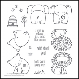 What's New Wednesday - see the A LITTLE WILD BUNDLE from the NEW 2017-2018 Stampin' Up Annual Catalog! www.SimplySimpleStamping.com - check out blog post July 19, 2017