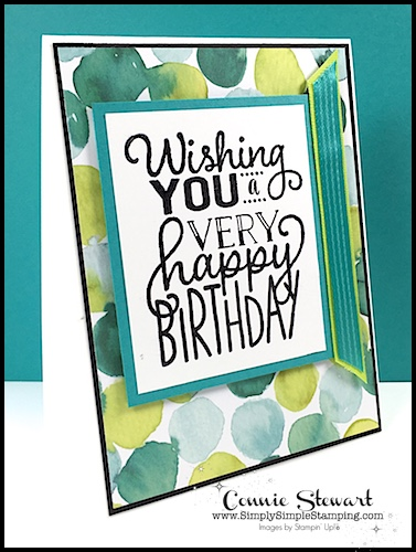 MAKE IT MONDAY –  Wishing You a Very Happy Birthday Tutorial