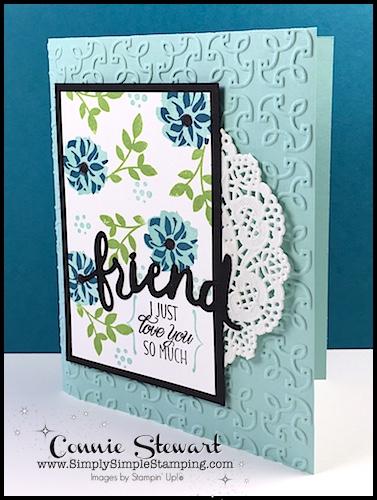 FLASH CARD – Elegant Friend Card – Video No. 96