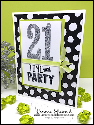 MAKE IT MONDAY – Time to Party Birthday Card Tutorial