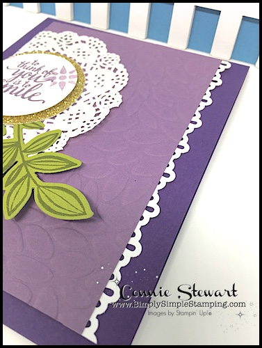 2-Minute Tuesday Tip - Border Punch Tips - check out the video at www.SimplySimpleStamping.com and look for the July 25, 2017