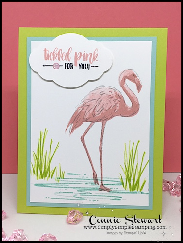 MAKE IT MONDAY – Tickled Pink Flamingo Tutorial