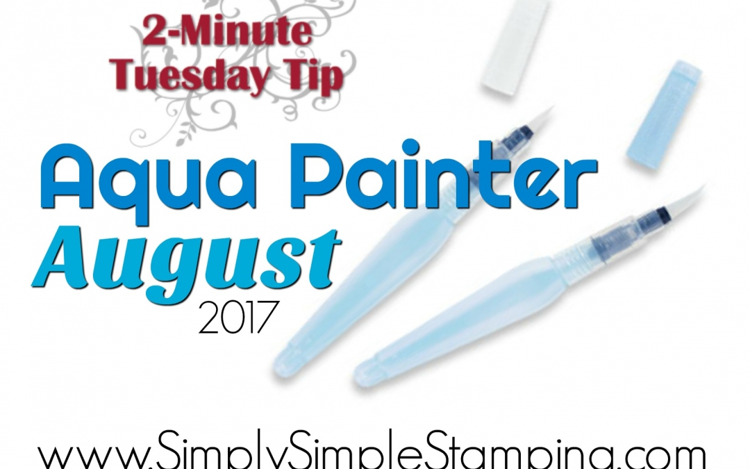 2-Minute Tuesday Tip – Aqua Painter August – Water vs. Rubbing Alcohol