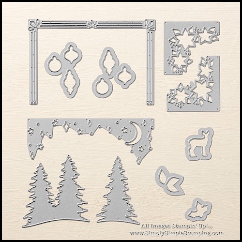 What's New Wednesday - see the CAROLS OF CHRISTMAS BUNDLE from the NEW Stampin' Up Holiday Catalog! You can order it NOW at www.SimplySimpleStamping.com - check out blog post August 9, 2017