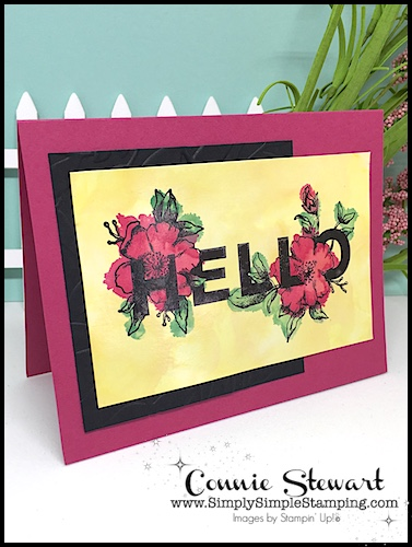 TEACH Me That! Learn how to create with GLOSSY WATERCOLORING at www.SimplySimpleStamping.com - look for the August 3, 2017 blog post