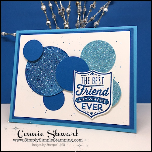 2-Minute Tuesday Tip – Aqua Painter August – Coloring Glimmer Paper