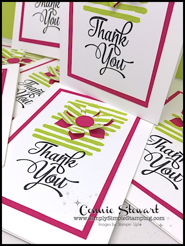 Did you miss the Facebook LIVE event this week? Catch it now! Watch as Connie attempts to stamp 8 cards in 8 minutes! www.SimplySimpleStamping.com - August 18, 2017