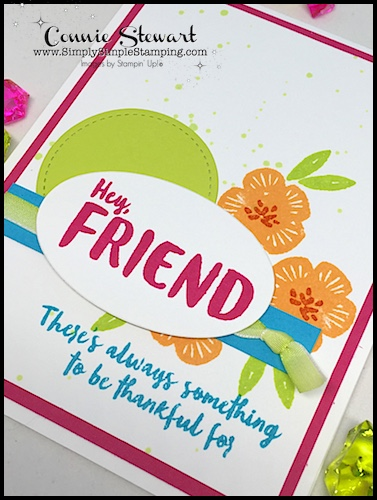 2-Minute Tuesday Tips AQUA PAINTER AUGUST - learn how create ink splatters - www.SimplySimpleStamping.com - August 22, 2017 blog post