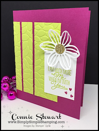 MAKE IT IN MINUTES FLAS CARD VIDEO - When I'm with You Card - www.SimplySimpleStamping.com - look for the August 25, 2017 blog post