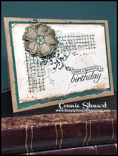 2-Minute Tuesday Tip – Aqua Painter August – Distressing Cardstock