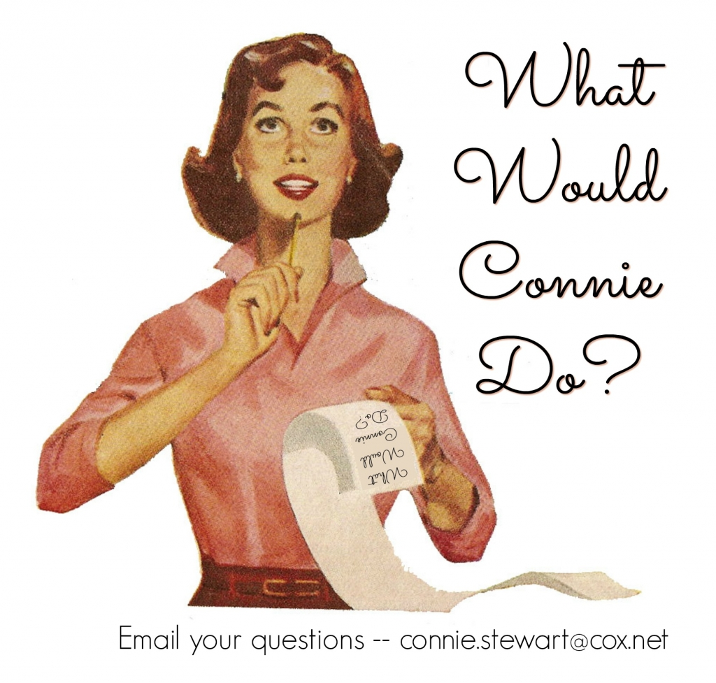 What Would Connie Do? Email Connie Stewart at connie.stewart@cox.net - www.SimplySimpleStamping.com
