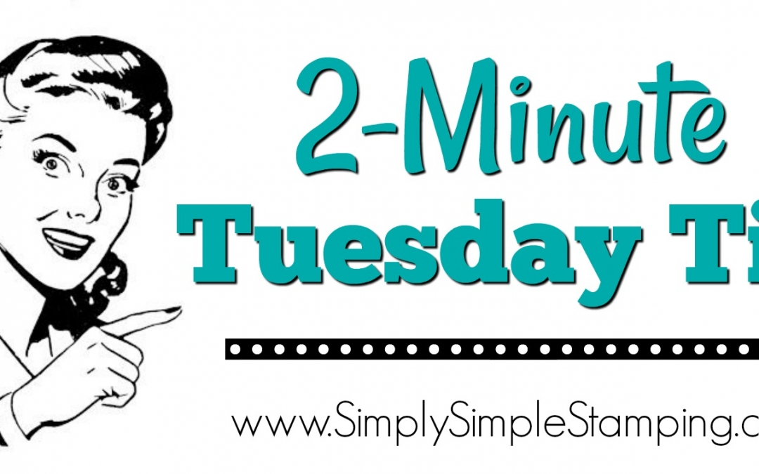 2-Minute Tuesday Tip – 3 Ways to Set Glitter