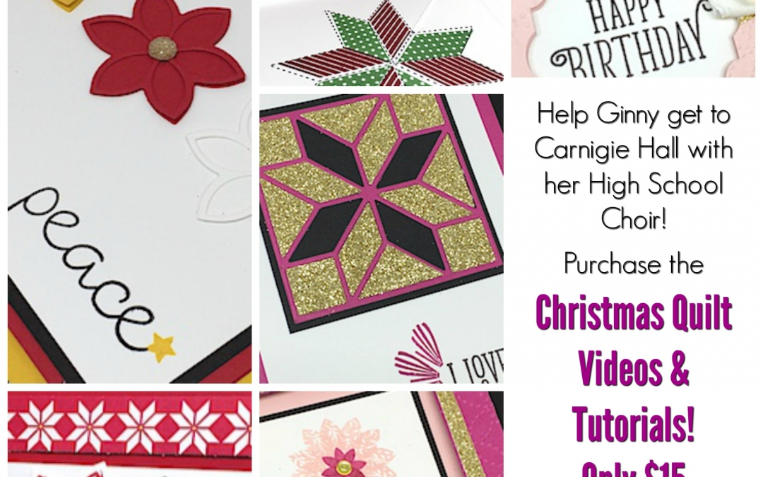 Christmas Quilt Bundle Tutorial Collection