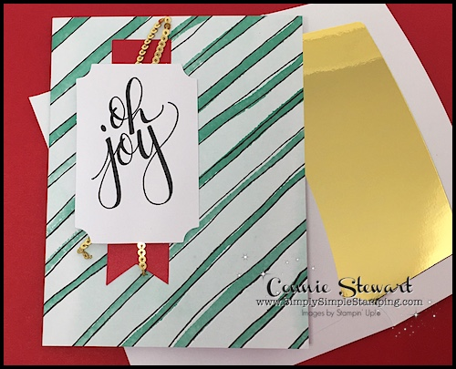 What's New Wednesday - see the Watercolor Christmas stamp set and card kit from the 2017-2018 Stampin' Up Holiday Catalog! You can order it NOW at www.SimplySimpleStamping.com - check out blog post September 6, 2017