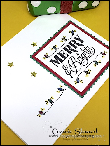 What's New Wednesday - see 4 great projects from the FESTIVE PHRASES stamp set from the 2017-2018 Stampin' Up Holiday Catalog! You can order it NOW at www.SimplySimpleStamping.com - check out blog post September 20, 2017
