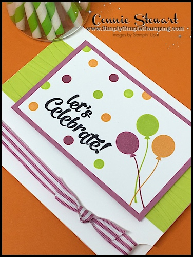 Flash Card Mash Up - Let's Celebrate by Connie Stewart - www.SimplySimpleStamping.com - look for the September 22, 2017 blog post