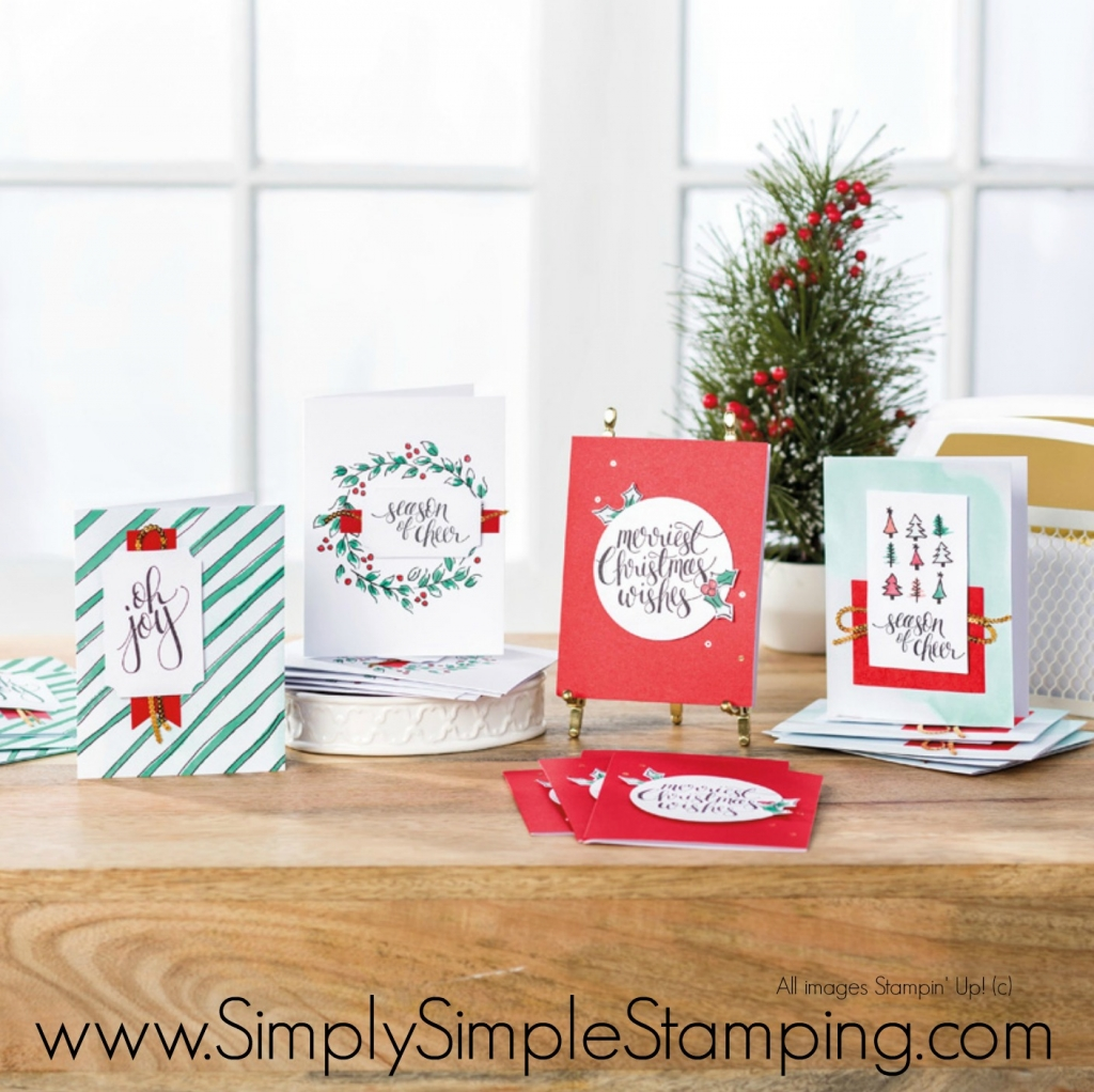 What's New Wednesday - Watercolor Christmas Stamp Set & Card Kit ...