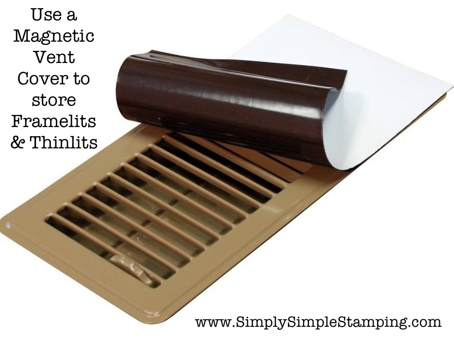 2-Minute Tuesday Tip - Storing Framelits & Thinlits - check it out at www.SimplySimpleStamping.com - September 12, 2017