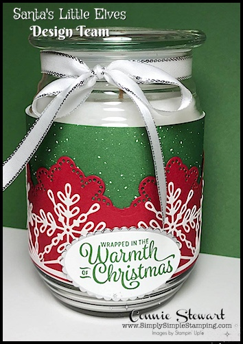 Countdown to Christmas – Wrapped in Warmth Candle Wrap