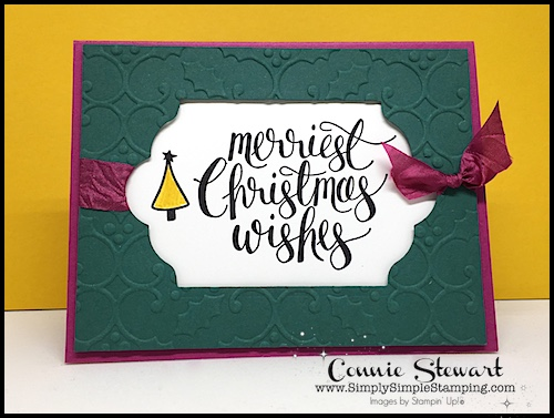 MAKE IT MONDAY – Christmas Gift Card Holder