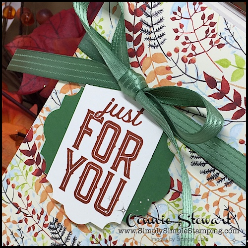 Join Connie for a Facebook LIVE event on Wednesday, October 11, 2017 at 7pm central time! www.SimplySimpleStamping.com