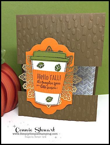 Video Tutorial – Floating Image Pumpkin Latte card