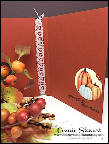 MAKE IT IN MINUTES - This layout can be used with any Designer Series Paper - check out 3 different cards at www.SimplySimpleStamping.com and look for the November 2, 2017 blog post