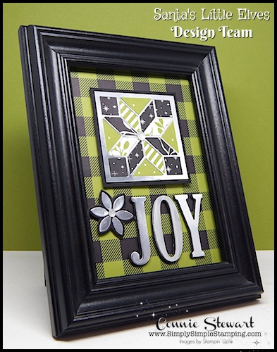 Countdown to Christmas – Framed JOY