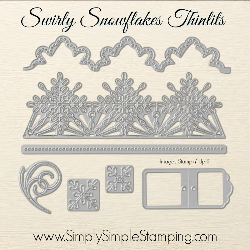 What's New Wednesday - check out the Snowflake Sentiments Bundle from the 2017-2018 Stampin' Up Holiday Catalog! You can order it NOW at www.SimplySimpleStamping.com - check out blog post October 25, 2017
