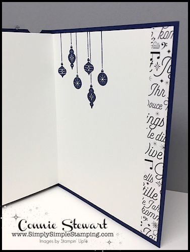 Watch the REWIND video of this week's Facebook LIVE! I will share how to create this beautiful tri-fold sympathy card and tri-fold Christmas card. www.SimplySimpleStamping.com and look for the November 15, 2017 post!