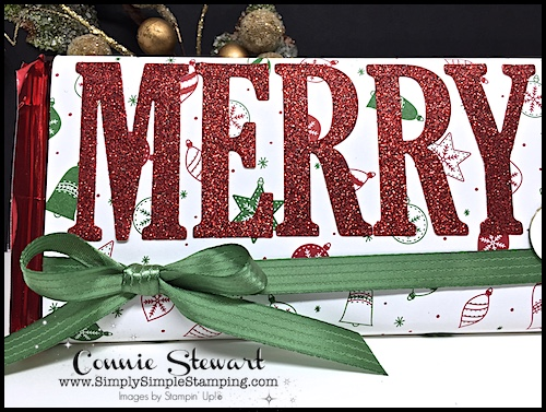 Watch the REWIND video of last week's Facebook LIVE! I will share how to create a giant candy bar wrap. Makes for a great stocking stufferl www.SimplySimpleStamping.com and look for the December 6, 2017 post!