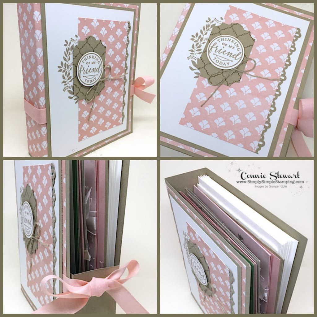 Facebook Live Rewind Greeting Card Gift Box Simply Simple Stamping