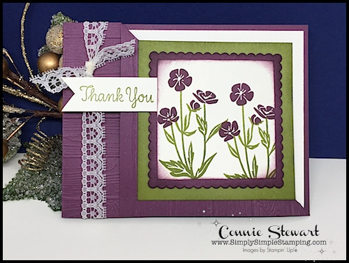 FANCY FOLDS BLOG HOP – Wild About Flowers Corner Fold