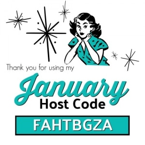 Use the January Host Code FAHTBGZA on your order of $30 or more and receive Surprise & Delight in your hand stamped thank you card! www.SimplySimpleStamping.com