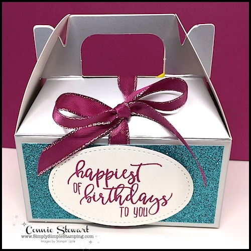 Watch the REWIND video of last night's Facebook LIVE! I will share how to create this adorable Birthday in a Box. A fun way to give someone a special birthday treat! www.SimplySimpleStamping.com and look for the January 11, 2018 post!