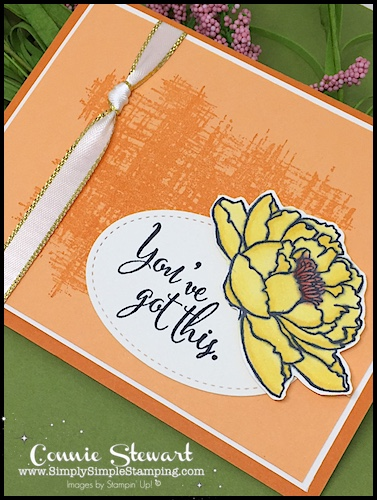 Make It Monday You've Got This card - download the FREE tutorial at www.SimplySimpleStamping.com - look for the January 8, 2018 blog post!