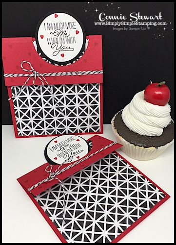 Watch the REWIND video of last week's Facebook LIVE! I will share how to create a circle pop-up card. It's pretty impressive but super easy to create. Check it out at www.SimplySimpleStamping.com and look for the February 2, 2018 post!