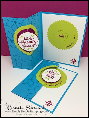 FANCY FOLDS Blog Hop – Eastern Beauty Spinner Card