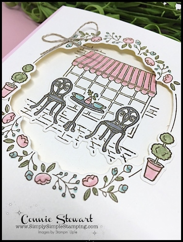 MY FAVORITE THINGS - Charming Cafe - check out the fun ideas and a video too! www.SimplySimpleStamping.com - look for the February 22, 2018 blog post!