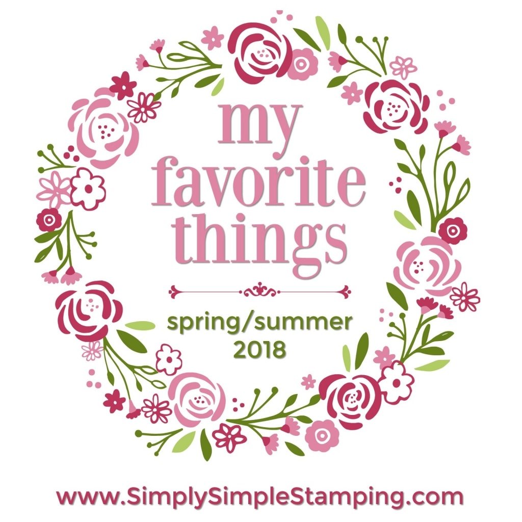 Come check out Connie's Favorite Things from the Spring/Summer catalog at www.SimplySimpleStamping.com