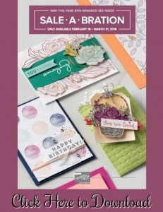 Check out all the amazing new stamping toys in the 2nd Release product for Sale-a-Bration! Get FREE stamps and toys with a $50 order now through March 31, 2018! www.SimplySimpleStamping.com