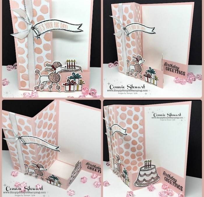 FANCY FOLDS Blog Hop – Birthday Delivery Double Z Fold