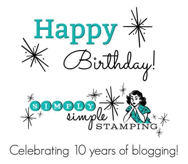 CELEBRATING 10 Years of Blogging!