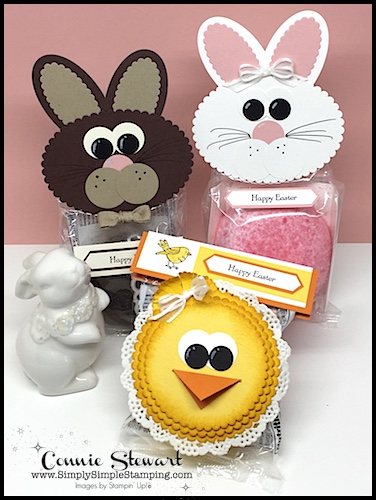 Watch the REWIND video of last week's Facebook LIVE! Create these sweet Snack Cake Bunnies & Chicks! www.SimplySimpleStamping.com and look for the March 12, 2018 post!