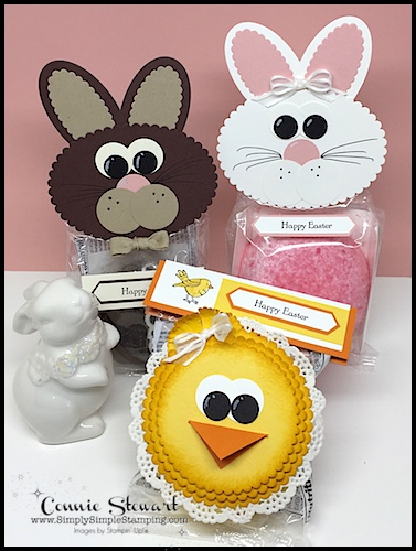 "Order the Snack Cake Easter Bunnies & Chicks pdf tutorial at www.SimplySimpleStamping.com - look in the menu for ""Let's Get Creative Tutorials"". www.SimplySimpleStamping.com"