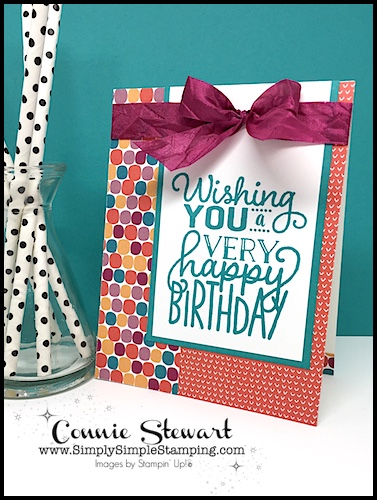 MAKE IT IN MINUTES Video – One Sheet Wonder Birthday Card